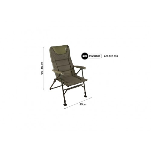Кресло рыбацкое с подлокотниками Carp Spirit BLAX CHAIR RELAX - ACS520038