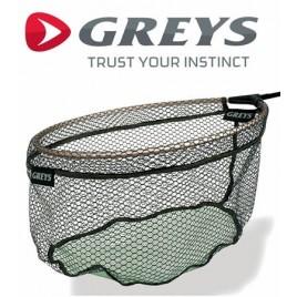 Голова підсаки Greys GGTN030 Landing Net 16 Rubber Dual Mesh (діаметр 40см)