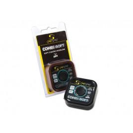 Поводочный материал COMBI SOFT - COATED BRAID 20M, '9.1KG/20LB/CAMO GREEN