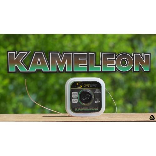 Поводочный материал KAMELEON 20M, 0.25MM/5KG/11LB/LO-VIS GREEN