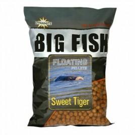 Пеллетс Dynamite Baits  Big Fish - Sweet Tiger Floating Pellets 11mm 1.1kg
