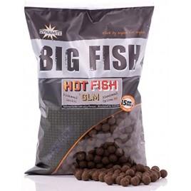 Бойлы тонущие Big Fish Hot Fish & GLM - 15mm Boilie 5kg