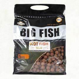 Бойли тонучі Big Fish Hot Fish & GLM - 20mm Boilie 5kg