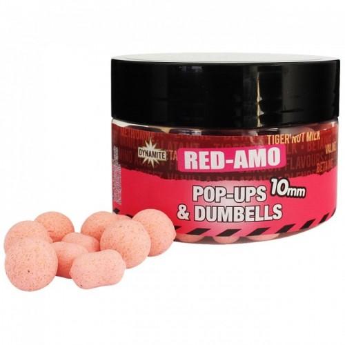 Бойлы Dynamite Baits Monster Tiger Nut Red Amo Fluro Pink 10mm - DY327
