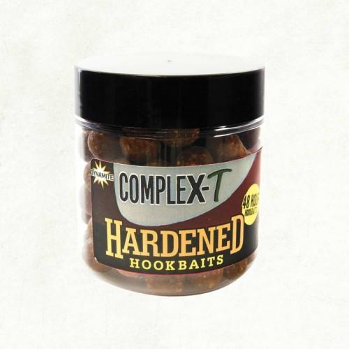 Бойлы Dynamite Baits CompleX T Hardened Hookbaits Dumbells 14mm&Boilies 15/20mm