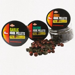 Пеллетс Dynamite Baits Pre Drilled Marine Halibut Hook Pellets 8mm Pots