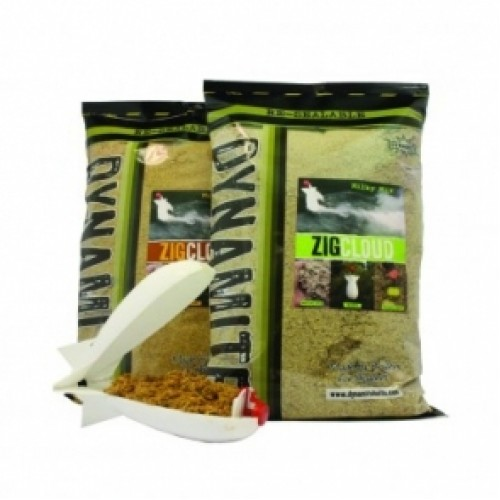 Zig cloud - Muddy Mix 2kg сухой корм Dynamite Baits - DY980