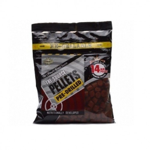 Пеллетс Dynamite Baits Source Pellets - 14mm Pre-Drilled 350g BAG - DY148