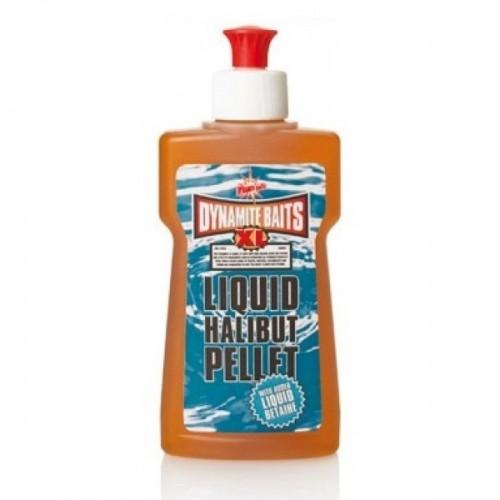 XL Liquid Halibut Pellet жидкая прикормка Dynamite Baits