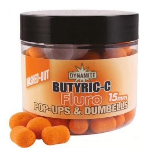 Бойлы и дамбелсы DYNAMITE BAITS Butyric C Fluro Orange Pop Up 10mm - DY614