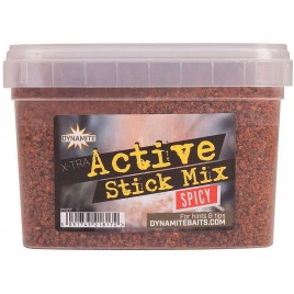 Прикормка DYNAMITE BAITS Xtra Active Stick Mix - Spicy - 650g - DY1217