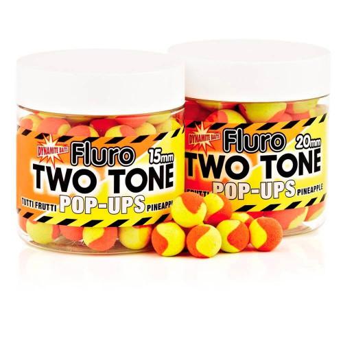 Бойлы Dynamite Baits Two Tone PopUp Tutti & Pineapple (Ананас)  20mm - DY596
