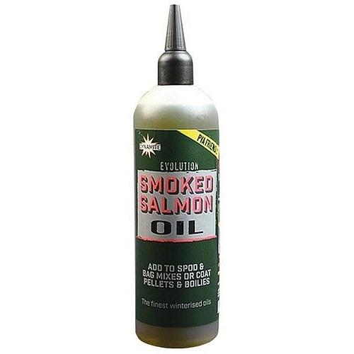 Ликвид Dynamite Baits Evolution Oile Smoked Salmon 300ml - DY1233