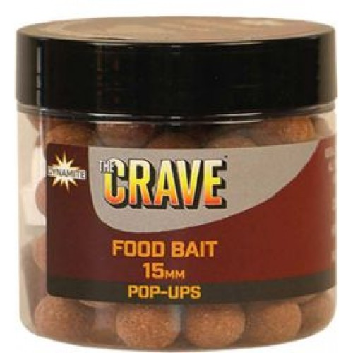 Бойлы плавающие DYNAMITE BAITS The Crave - Foodbait Pop-Up 15mm - DY907