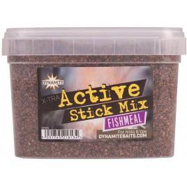 Стик микс DYNAMITE BAITS Xtra Active Stick Mix - Fishmeal - 650g - DY1215