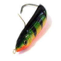 Незацепляющаяся блесна Rapala Minnow Spoon RMS08 P