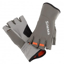 Перчатки Simms ExStream Half Finger Glove Dk Gunmetal