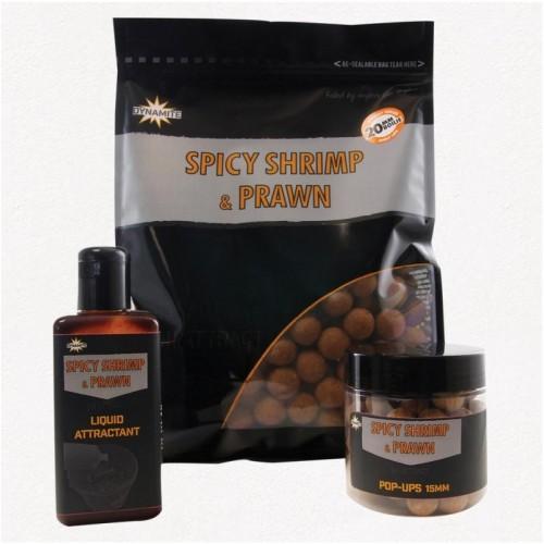 Spicy Shrimp & Prawn 10mm S/L 1kg бойлы Dynamite Baits - DY966