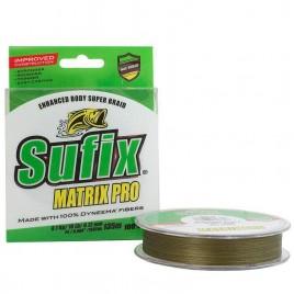 Шнур MATRIX PRO 135M, 0.10MM/5.0KG/PE0.4/11LB/MID.GREEN
