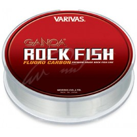 Флюорокарбон Ganoa Rock Fish FLUORO 100yds #3,5 14lb 0.310mm