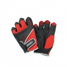 Перчатки VAG08 STRETCH FIT GLOVE 5 LL RED BLACK