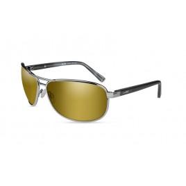 KLEIN Pol Amber Gold Mirror Gunmetal Frame - солнцезащитные очки