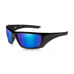 NASH Polarized Blue Mirror Matte Black Frame - солнцезащитные очки