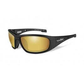 BOSS Pol Amber Gold Mirror Matte Black Frame - солнцезащитные очки