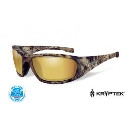 BOSS Pol Amber Gold Mirror Kryptek Highlander Frame - солнцезащитные очки