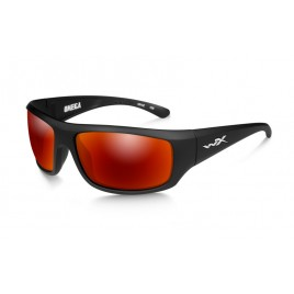Окуляри Wiley X OMEGA Polarized Crimson Mirror Matte Black Frame