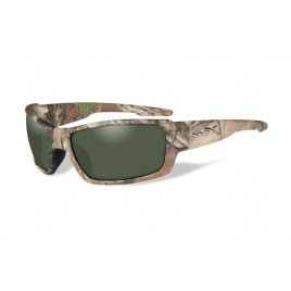Окуляри Wiley X REBEL Polarized Green Realtree Xtra Camo Frame