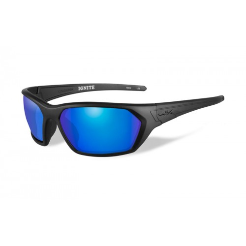 Очки Wiley X IGNITE Polarized Blue Mirror Matte Black Frame