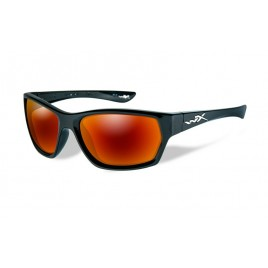 Окуляри Wiley X MOXY Polarized Crimson Mirror Gloss Black Frame