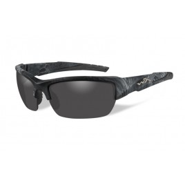 Окуляри Wiley X VALOR Polarized Smoke Grey Kryptek Typhon Frame