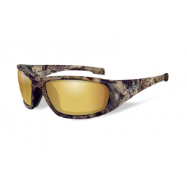 Очки Wiley X BOSS Pol Amber Gold Mirror Kryptek Highlander Frame