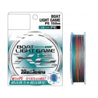 Шнур плетеный LineSystem BOAT LIGHT GAME X8 150M #0.6