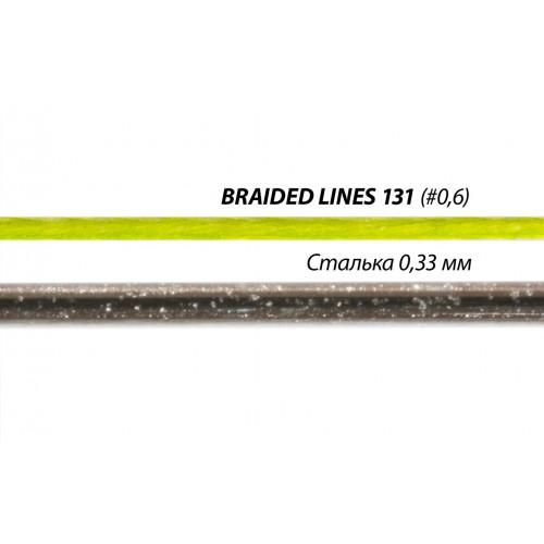 Шнур Sufix 131 BRAID 150M 0.185MM/11.40KG/#1.2/25LB/Green (S13185GR150)