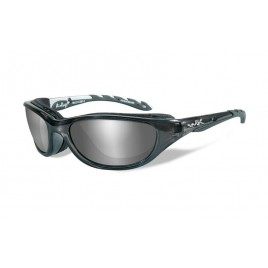 Очки Wiley X AIRRAGE Polarized Grey Silver Flash Crystal Metallic Frame