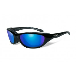 Очки Wiley X AIRRAGE Polarized Blue Mirror Gloss Black Frame