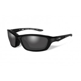Очки Wiley X BRICK Polarized Smoke Grey Gloss Black Frame