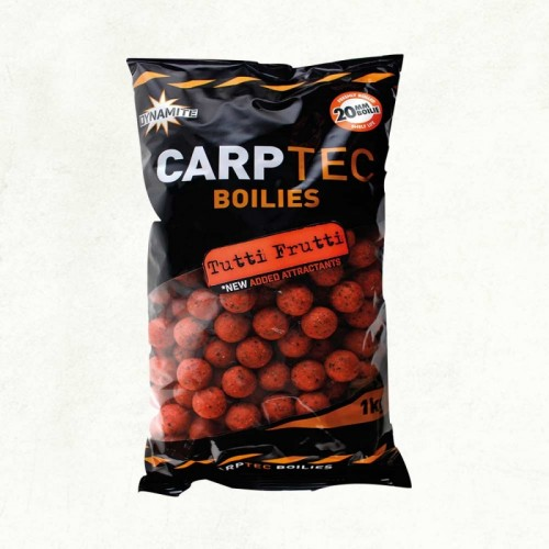 Бойлы Dynamite Baits Carptec Tutti Frutti 15mm 2kg DY1155