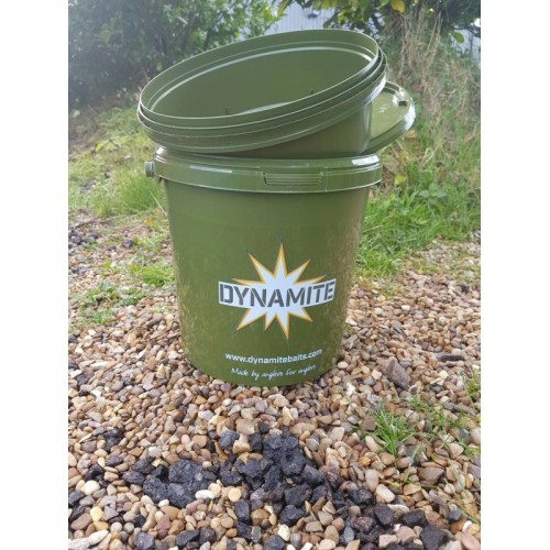 Ведро для прикормки Carp Bucket Green 11 litre Dynamite Baits DY501