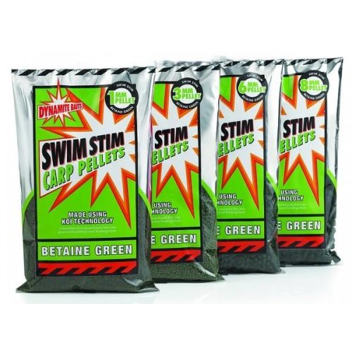 Пеллетс Dynamite Baits Swim Stim Green 6mm 900g  - DY101