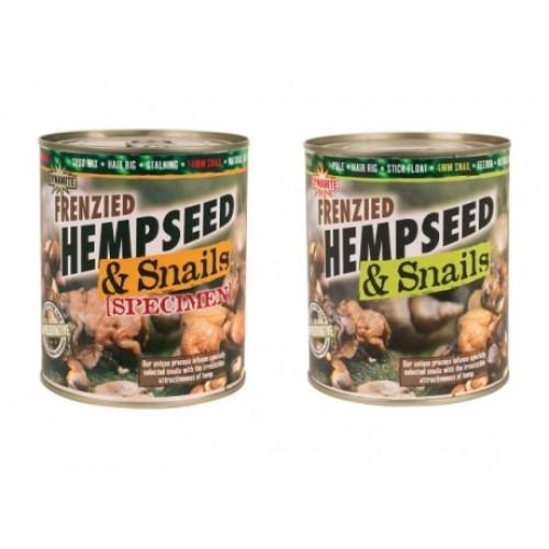Прикормка Dynamite Baits Hemp&Specimen Snails 700g Tin улитка - DY191