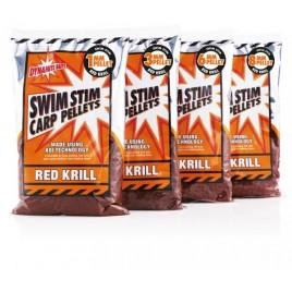 Swim Stim Red Krill Carp 8mm 900g пеллетс Dynamite Baits - DY216