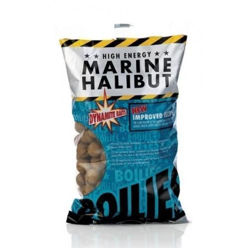 Бойлы Dynamite Baits Marine Halibut 15mm Sea Salt 1kg DY245