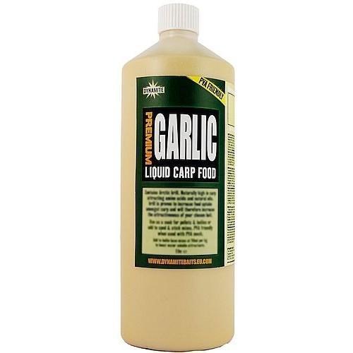 Жидкий ликвид Dynamite Baits Garlic Premium Liquid Carp Food 1L