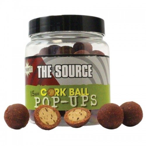 Бойлы Dynamite Baits Corkball Foodbait Source Pop Ups 15mm Pots - DY930