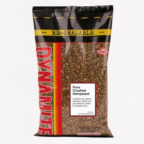 Зерновая прикормка Dynamite Baits Crushed Hempseed 500g - XL824