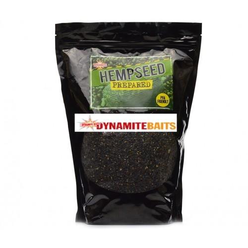 Сухая прикормка Dynamite Baits Prepared Hemp 1.5KG POUCH